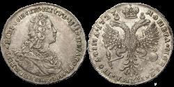 Полтина-1727г