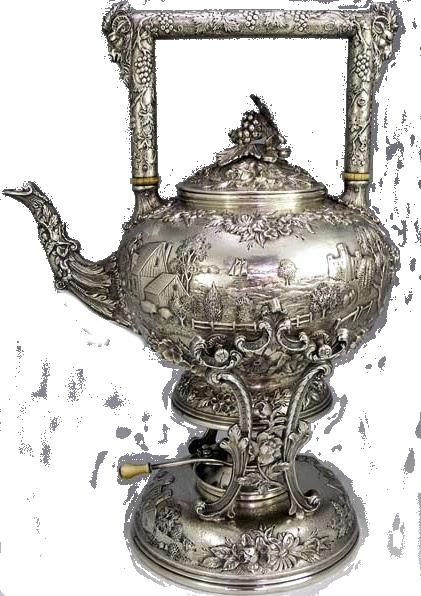 старинный чайник